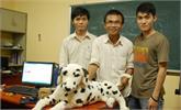 Chó robot thông minh của sinh viên VN
