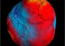 Bản đồ số chính xác nhất về Trái đất