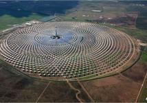 Nhà máy điện mặt trời hoạt động vào ban đêm